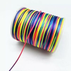 1mm Gradual Change Colorful DIY Fashion Supply Jewelry Making Accessories Gifts