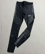 Nike Pro Elite 2018 Men Power Speed  Long Tights Size Small Track and Field