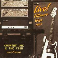 Country Joe And The Fish - Live! Fillmore West 1969 (VCD 139)