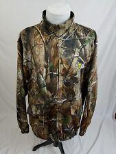 SCENT BLOCKER Realtree Camo Smackdown Bone Collector Full Zip Jacket Mens XL EUC
