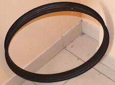 Single wall bicycle rim 58 mm width (24 inch diameter) matt black