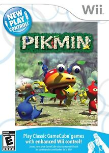 New Play Control Pikmin - Nintendo  Wii Game