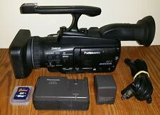Panasonic AG-HMC40 AVCCAM Pro Handheld HD Camcorder with 919 Hour Use SDHC Card