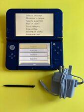 Nintendo New 3DS XL Metallic Blue *READ DESCRIPTION & PICTURES* Paint Scuffed