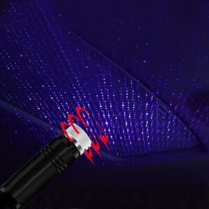SUV Car Accessory USB Night Light Interior Atmosphere Star Sky Lamp Star Ambient