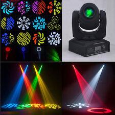 50W RGBW LED Moving Head Stage Light DMX-512 DJ Disco Party Club Stage Lighting