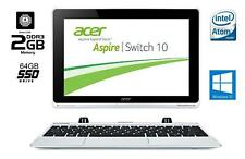 ACER Aspire Switch 10 / Intel Atom Quad / 2GB / 64GB / Win10rdy / 10,1 Zoll