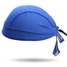 Royal Blue Dry Fit Moisture Wicking Stretch Biker Head Wrap Durag Free Shipping