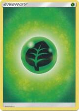 4X Grass Basic Energy -Sun and Moon Base Set- -NM- Pokemon Green Leaf