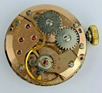 ETA 2512 Garrard Vintage Watch Movement - Ticking - For Parts/Repair (BL82)
