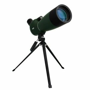 25-75x70mm Zoom HD Optical Telescope Monocular Tripod Waterproof Straight Scope