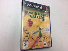 BOARD GAMES GALLERY  PS2 PLAYSTATION 2 PAL NUOVO SIGILLATO