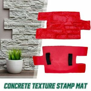 Concrete Stamps Stone Molds Garden House Decor Texture Wall Floors Molds Plaster