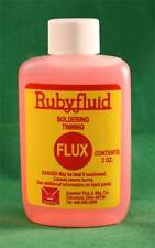Rubyfluid Liquid Flux for Stained Glass - 2 oz. Ruby Fluid