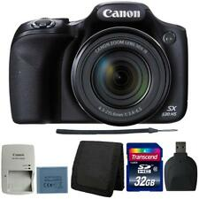 Canon PowerShot SX530 HS Digital Camera with 32GB Deluxe Accessory Bundle