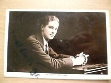 POSTCARD- MR ERNEST WATTS TYE with AUTOGRAPHED