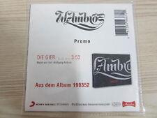 CD / WOLFGANG AMBROS / DIE GIER  / PROMO / MUSTER / RARITÄT /