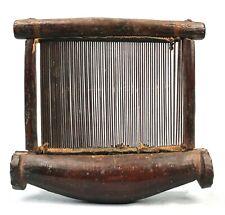 Art Africain African - Guide fil de Métier à tisser Akan Ancien & Usuel - 21 Cms