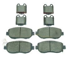 LEXUS IS200 1999-2006 MINTEX FRONT AND REAR BRAKE DISC PADS FULL SET NEW