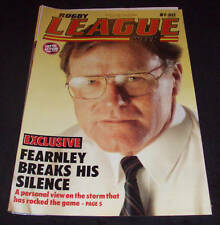 Rugby League Week Newspaper/Magazine Vol 16 No 23  1985