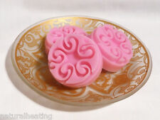8 cell Mini CHOCOLATE SWIRL Mold Cup Cake Cupcake Topper Silicone Fancy Mould