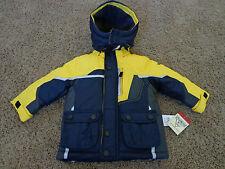 OSH KOSH brand NEW boy's sz 18 months blue & yellow winter jacket MSRP $70.00