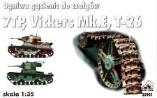 SEPARATE TRACKS TO 7 TP / T-26 / VICKERS E / C7P 1/35 RPM