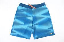 Nike Swoosh 442441 Chlorine Blu 36 Tavola da Nuoto Corto Uomo Nwt Nuovi