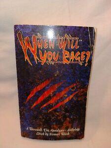 White Wolf Werewolf - The Apocalypse Novel When Will You Rage? In Ok Condition