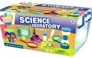 NEW KIDS FIRST THAMES & KOSMOS SCIENCE LABORATORY 25-PIECE SET- AGES 3+