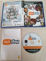 PLAYSTATION 2 - PS2 EyeToy Play Game Boxed Complete PAL Sony 3+ Eur UK