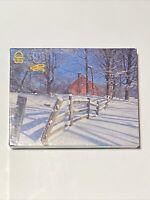 Vintage Merrigold Press 500 Piece Jigsaw Puzzle MORRISTOWN NJ Winter Farm NEW
