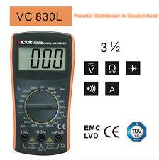 Vc830l Victor Classic digital Multimeter 3 1/2 dc ac Cap. res. FR. inmediatamente de ar!
