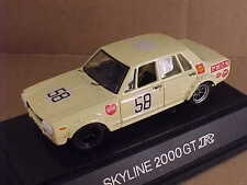 EBBRO 1/43 Diecast 1969-72 Nissan Skyline GT-R PGC10 #58 Year/Event Unknown #38