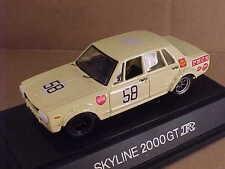 EBBRO 1/43 #38 Diecast 1969-72 Nissan Skyline GT-R PGC10 #58 Year/Event Unknown