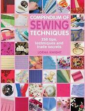 Compendium of Sewing Techniques by Lorna Knight (Paperback, 2010)
