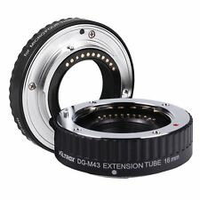 Auto Focus AF Macro Extension 2 Tube for Micro Four Thirds M4/3 DSLR Camera Lens