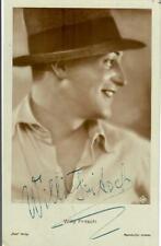 Willy Fritsch Ross 4289/2 signiert, Autogramm