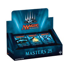 More details for mtg magic: the gathering masters 25 booster box - sealed