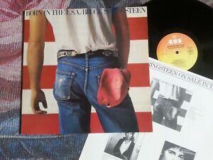 BRUCE SPRINGSTEEN - BORN IN THE U.S.A.      vinyl LP.
