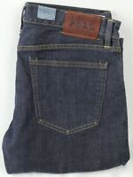 POLO Ralph Lauren Slim 381 Fit Dark Blue Denim Jeans NWT