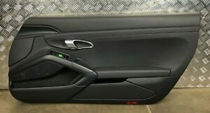 Porsche Boxster Cayman 981 Front Rigth Door Card Trim Panel 981555204 991555204