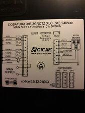 Gicar Coffee Machine PCB FRACINO CLASSIC, CONTEMPO 2-GRP, 3-GRP 240 Vac 9.5.32.