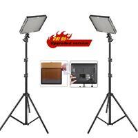 Aputure AL-528W+ AL-528S LED Video Light Slim lighting Stand Kit fr Canon Nikon2