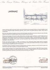 Document Philatélique Timbre 1er Jour : 08/10/ 1983 - Jarnac
