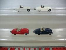 L15-0,5# 4x Wiking H0 Modèles/Modèles réduits de voitures, Sport Jaguar 20, TOP