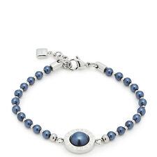 Leonardo Schmuck | Armband blauschwarz Matrix Perls 016682