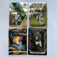 2020 Panini Prizm and Mosaic Miles Sanders Lot Obsidian and Elite 41/49