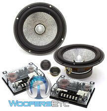 "FOCAL UTOPIA LIMITED EDITION 6.5"" CAR 2-OHM COMPONENT CROSSOVERS SPEAKERS NEW"