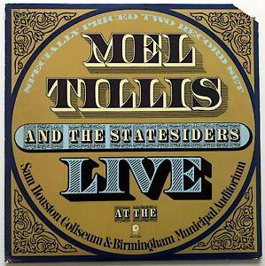 MEL TILLIS AND THE STATESIDERS - LIVE AT THE SAM HOUSTON COLISEUM & BIRMINGHAM